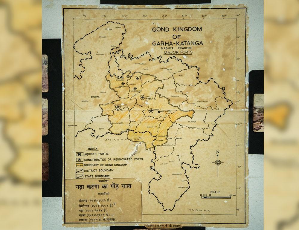 Gond Kingdom map